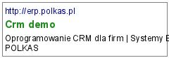 Crm demo